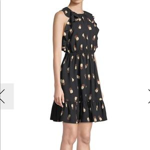 NWT Kate spade by the pool pineapple dress
